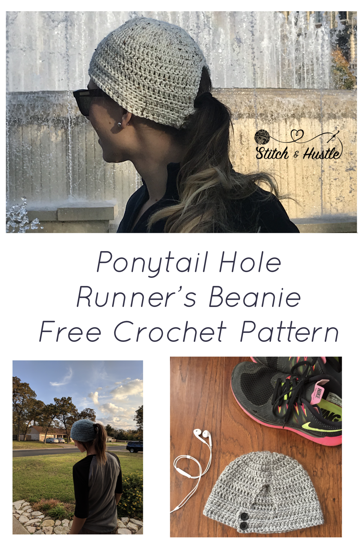 The Norwalk Runner\'s Crochet Beanie Free Pattern | Crochet patterns ...
