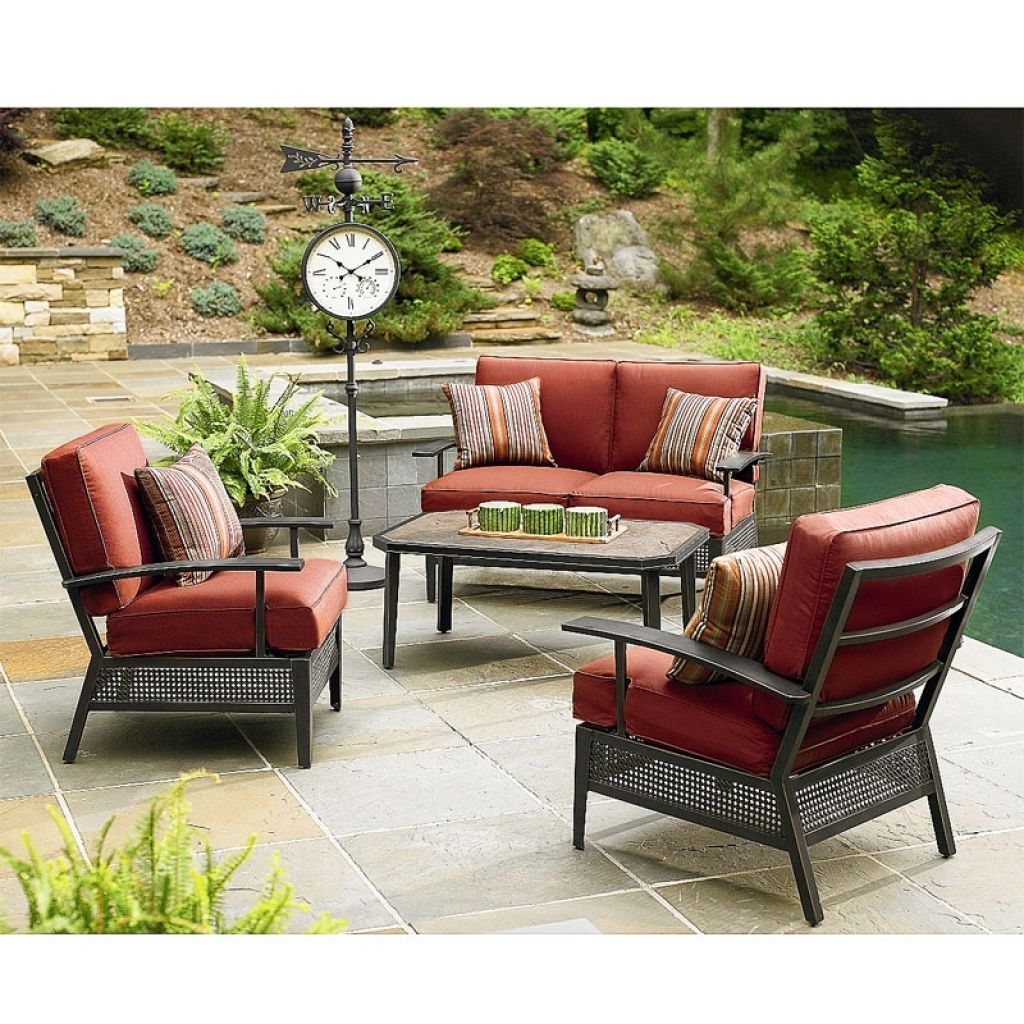 Replacement Cushions For Patio Sets Sold At Sears Garden Winds Within Outdoor Furniture Clearance