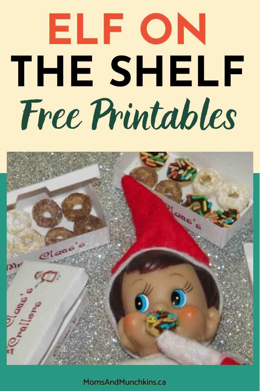 Elf On The Shelf Printables Freebies Moms Munchkins Awesome Elf On The Shelf Ideas Elf On The Shelf Elf