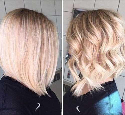 Blonde bob frisuren 2017