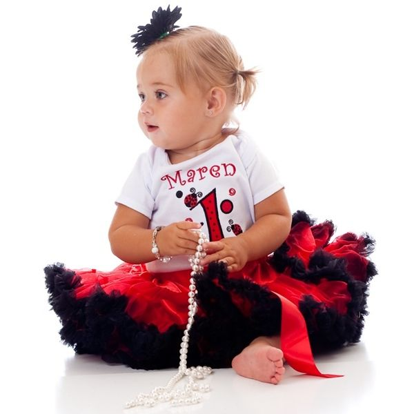 This Little Lady Bug is 1st Birthday Outfit *Free Shipping*