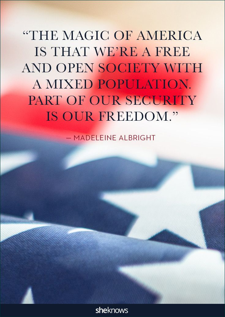 Patriotic Quotes Pleasing 25 Quotes About America That'll Put You In A Patriotic Mood . Inspiration