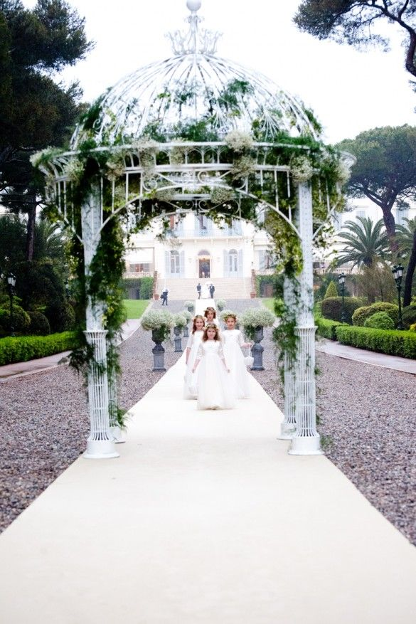 Hotel Du Cap Eden Roc Wedding Ceremony