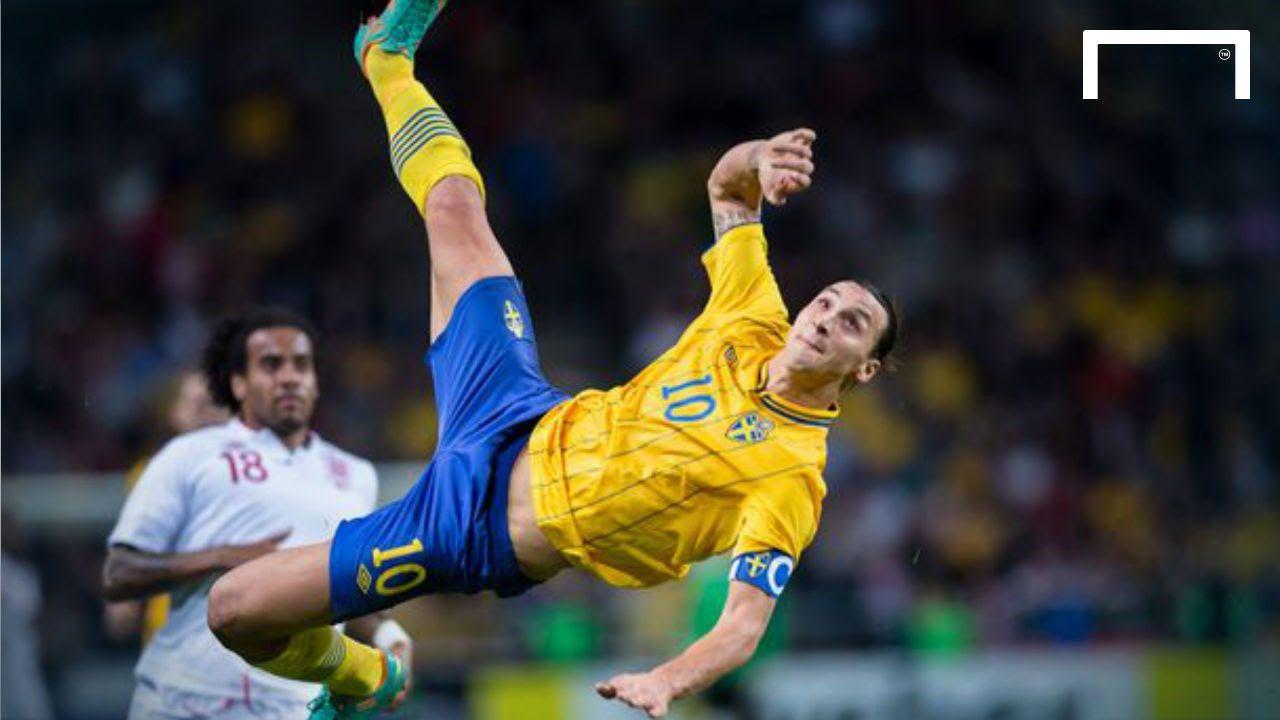 Ibrahimovic Goal Vs England Zlatan Ibrahimovic Soccer Goal Top Soccer