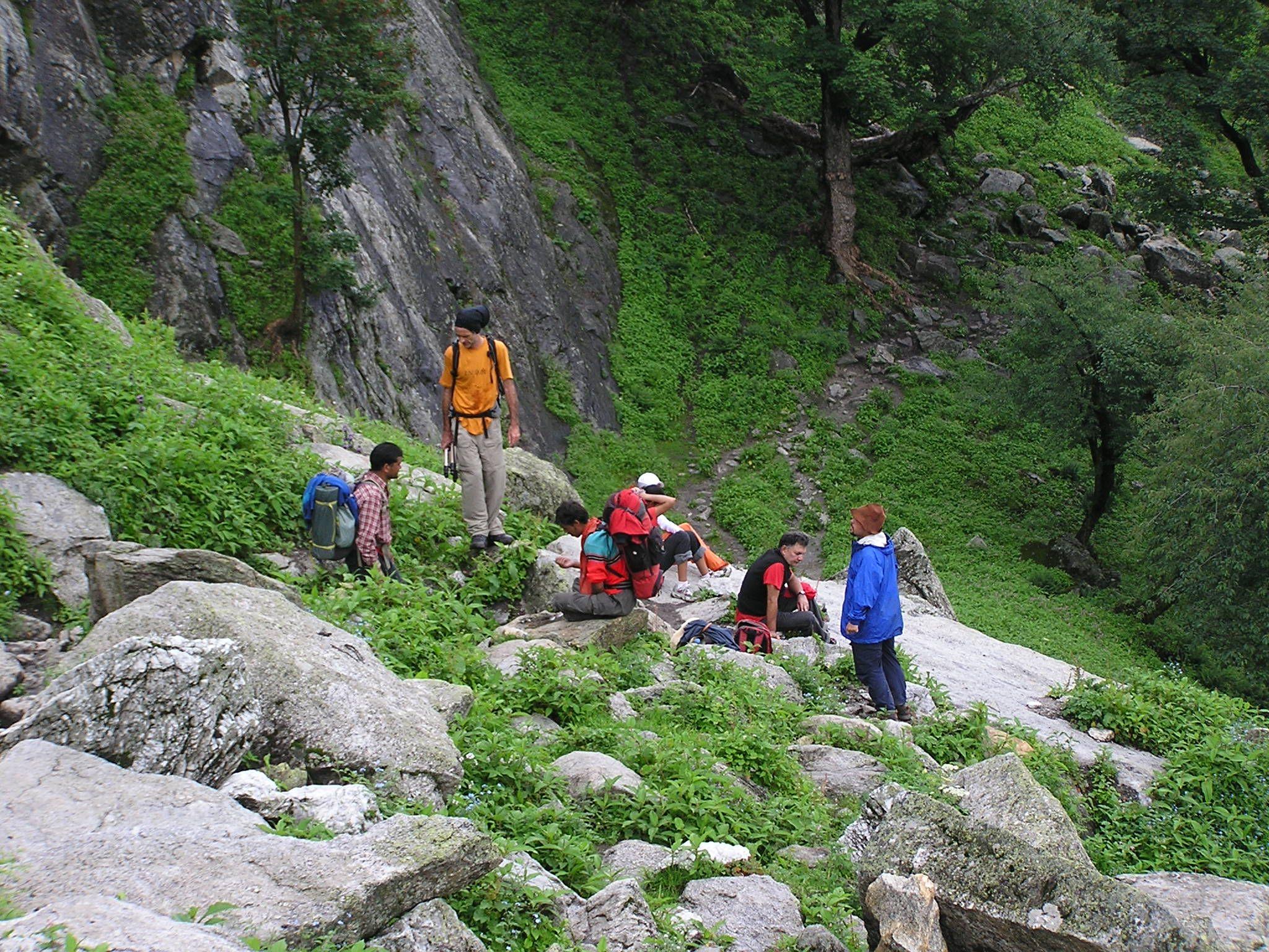 The 2nd day of the Bhawa Pass Trek.