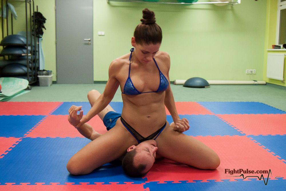 Girl dominates sex wrestling sexy young 2