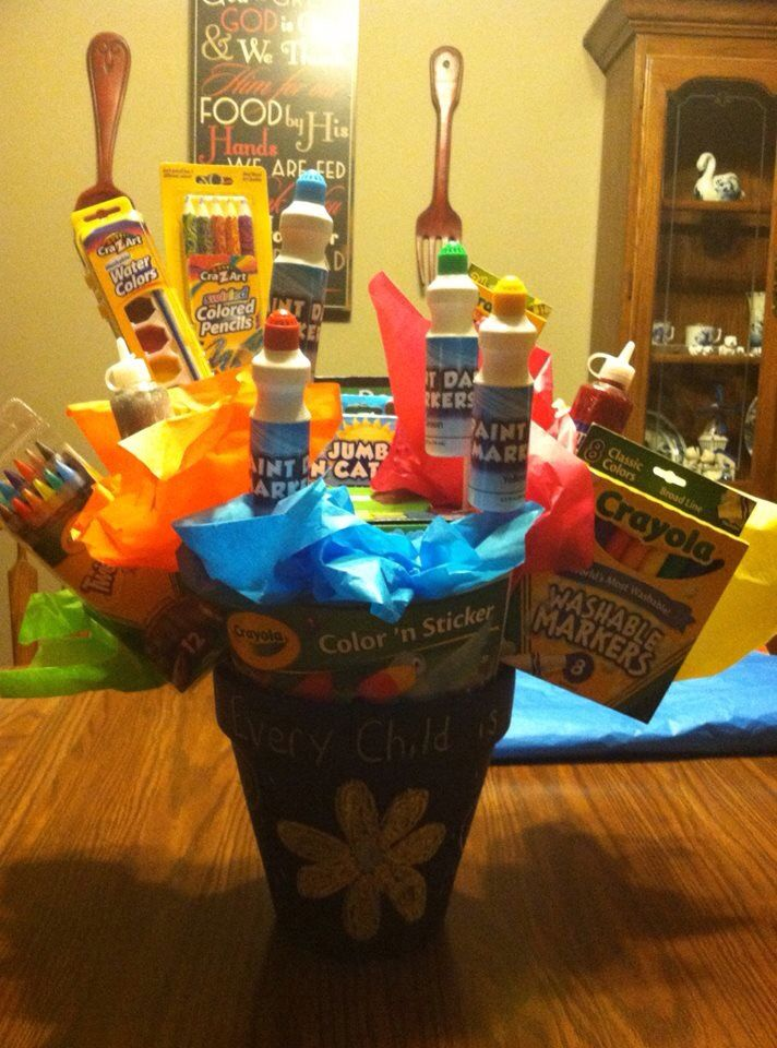 Kids basket for raffle! | Raffle baskets, Baby shower gift ...