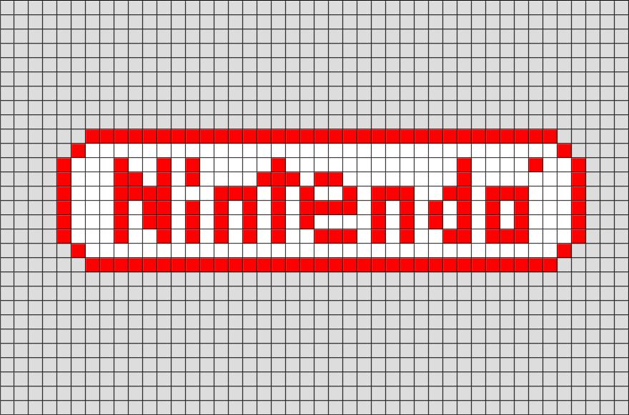 Nintendo Pixel Art In 2020 Pixel Art Pixel Art Templates Pixel Art Design