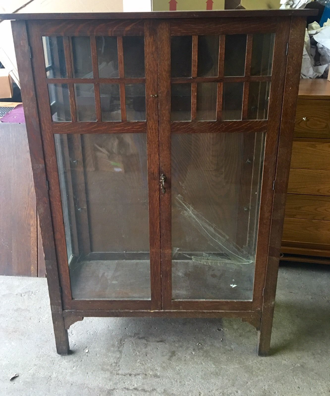 Rare Hersee Oak Arts & Crafts 1900's Bookcase For Restoration Shipping  Available | eBay - Rare Hersee Oak Arts & Crafts 1900's Bookcase For Restoration