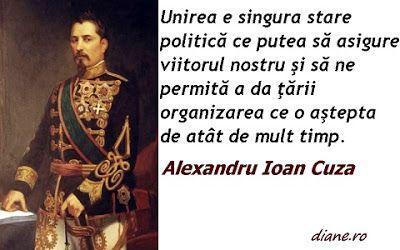 citate despre alexandru ioan cuza Alexandru Ioan Cuza: Un citat despre Unire | citate | Pinterest  citate despre alexandru ioan cuza