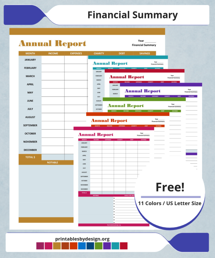 Bank Account Tracker Printables by Design Bill tracker