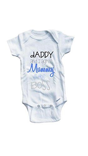 Baby Tee Time Baby Boys' Mummy is the boss One piece 0-3 Months White Baby Tee Time http://www.amazon.com/dp/B00TR9WM2O/ref=cm_sw_r_pi_dp_76.vvb0AR6108