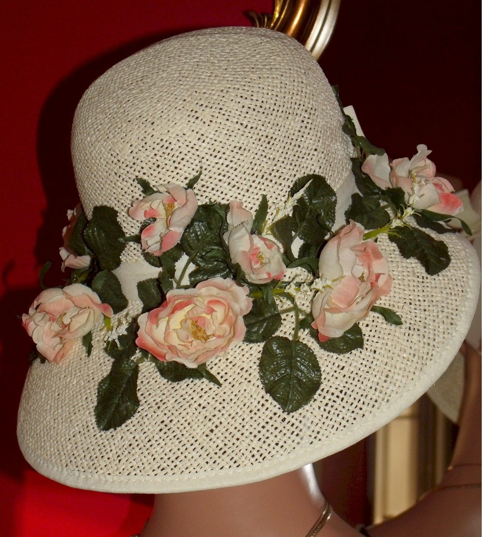 Kentucky Derby Bonnet Hat Church Hat Tea Garden Party Bonnet Etsy Tea Party Hats Tea Hats Church Hats [ 1500 x 1349 Pixel ]