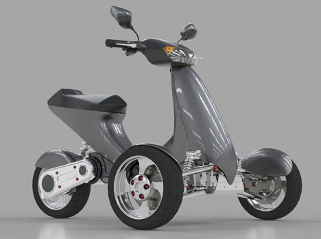 Sway Motorsports Tilting Electric Trike Scooter Bike Motorcycle Tricycle Unicycle