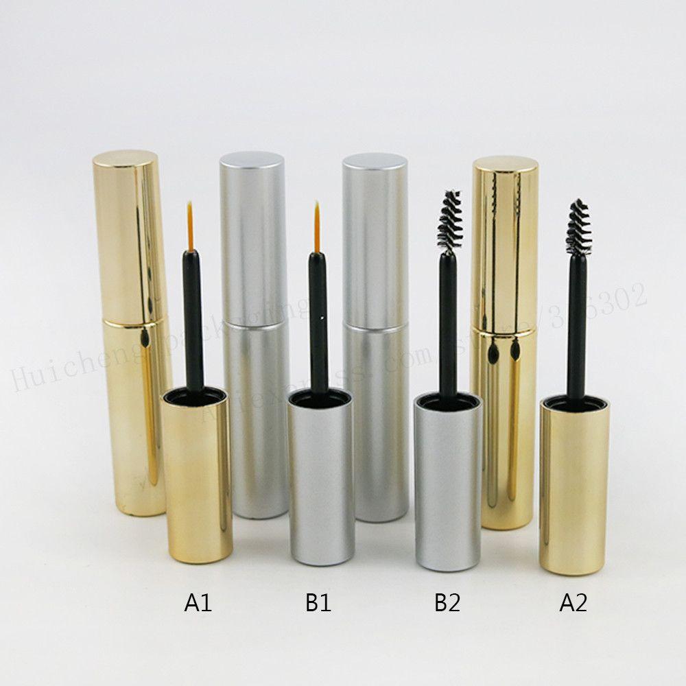 1fd6315e269 New Style 1pcs x Empty 8ml UV Gold Silver Mascara Tube Eyelash Vial Liquid Bottle  Container 8cc y Eyeliner Make Up Tube