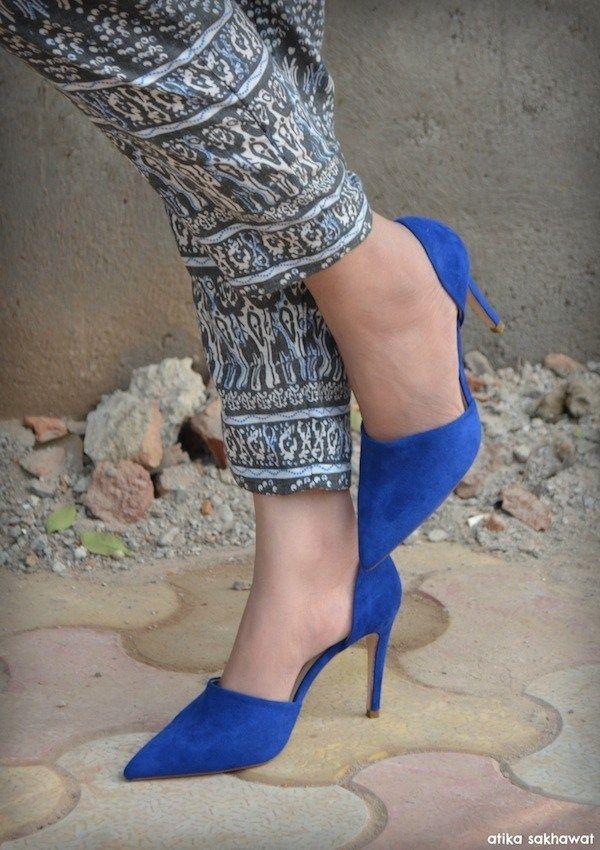 b00321fa5e royal blue, pumps, Zara, sexy, pretty, spring | #Shoes | Pinterest