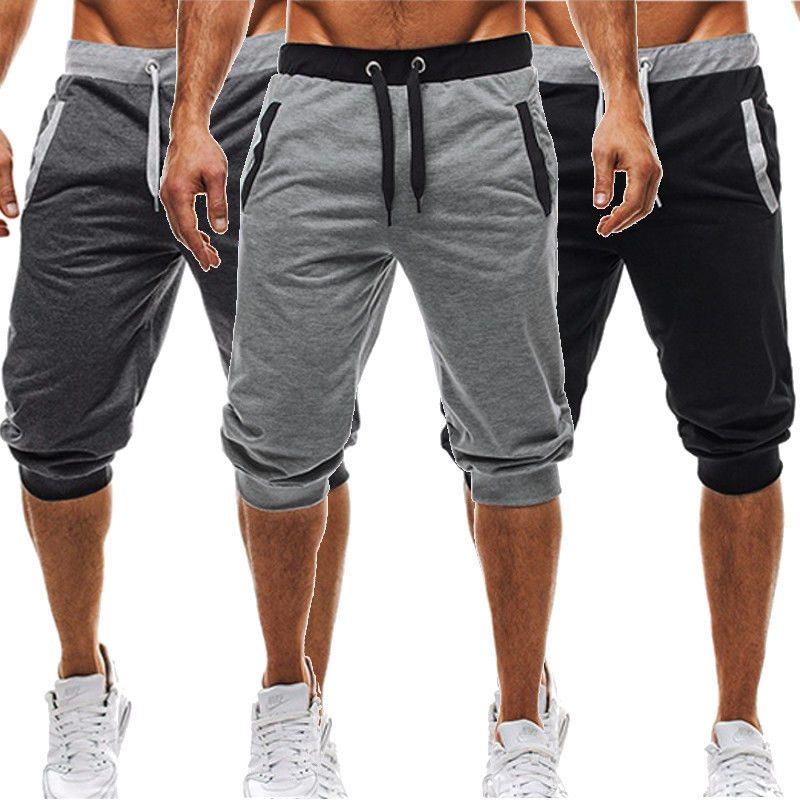 6dce119a719fe1 Fitness Shorts. BBYES Summer Men Casual Sweatpants Shorts 3 4 Trousers Short  ...