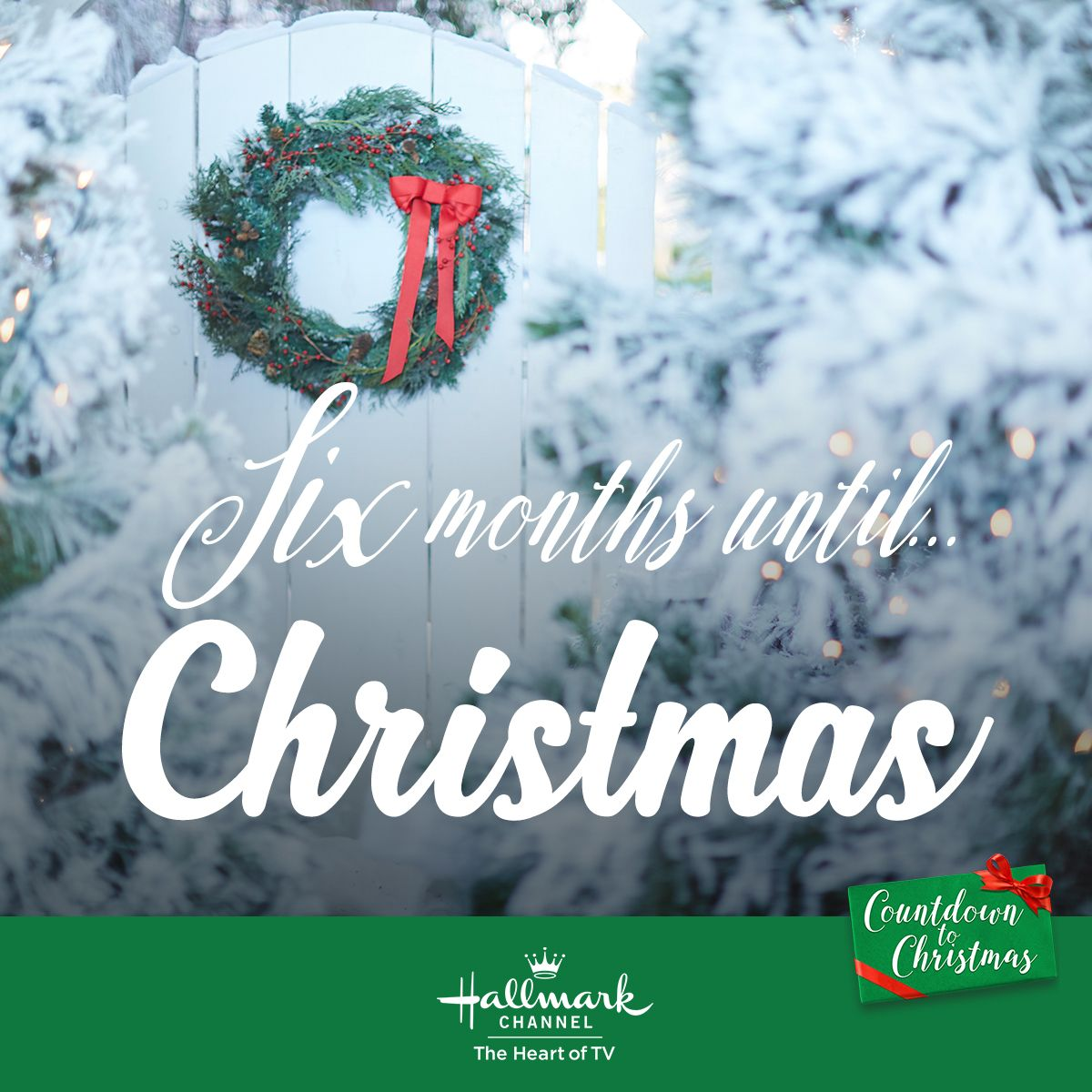 We Re Halfway To Christmas And In 123 Days New Countdown To Christmas Movies Begin Countd Christmas Countdown Hallmark Channel Christmas Movies Christmas