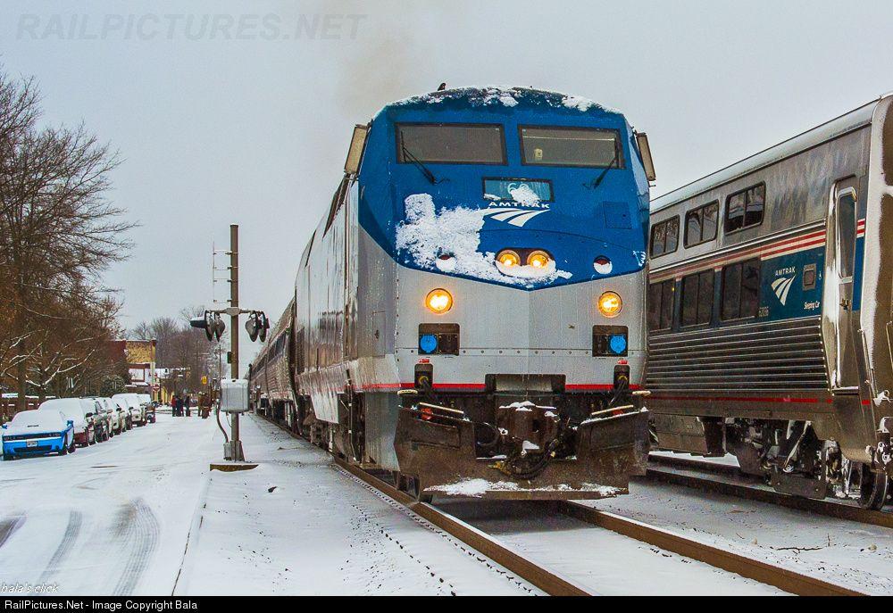 Photo . Amtrak GE P42DC at Ashland