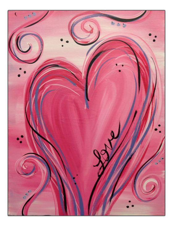 Misc-Heart Pink Heart