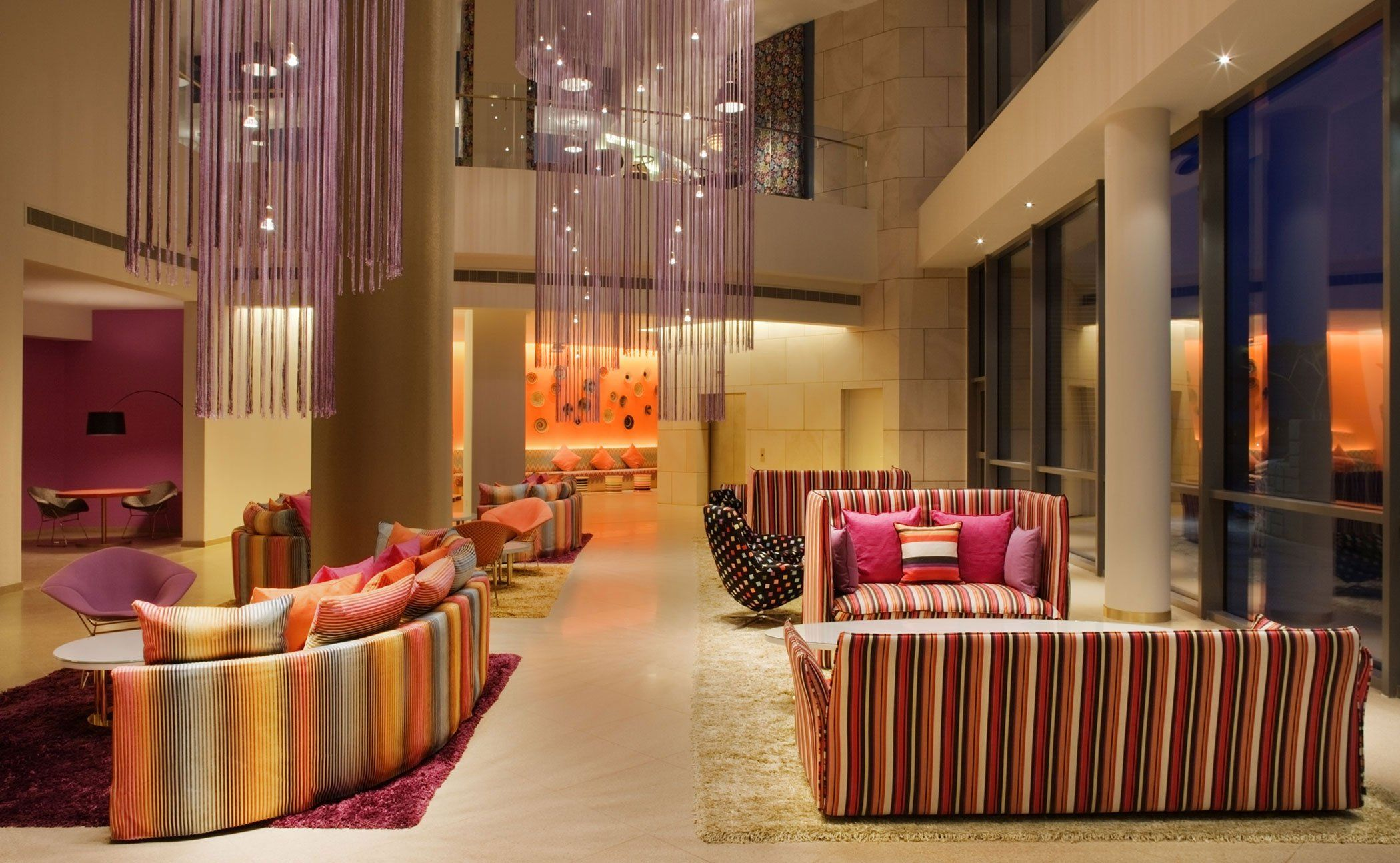 the contemporary hotel missoni in kuwait city - caandesign | home