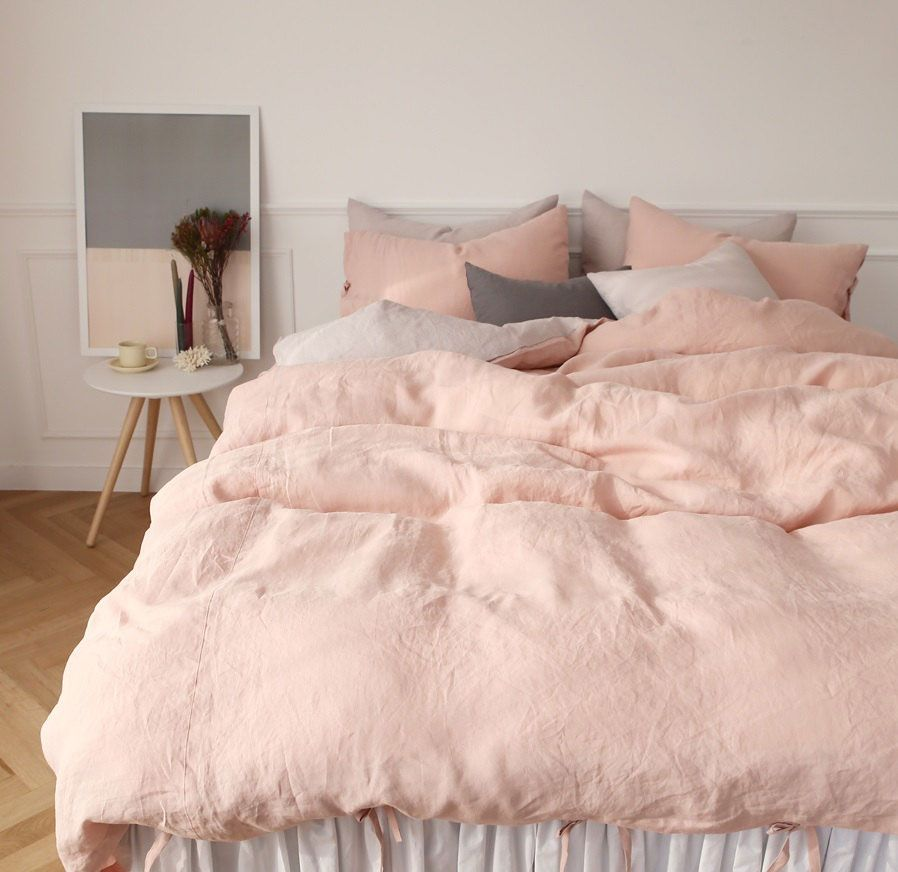 Pink Sheets Bedrooms Room and Interiors