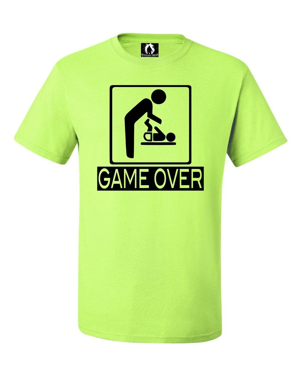 b894cd071 Adult Game Over New Dad New Father Funny T-Shirt | Products ...