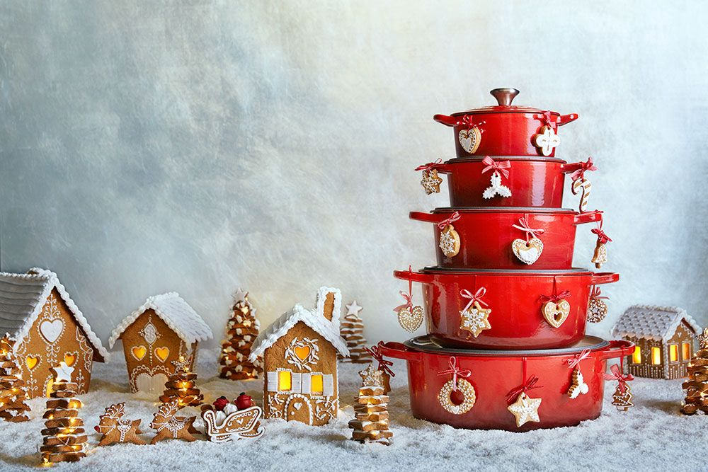 Make a Christmas wish come true with Le Creuset.