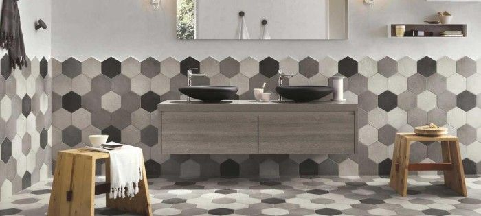 Piastrelle esagonali RAGNO | Design | Pinterest | Piastrelle ...