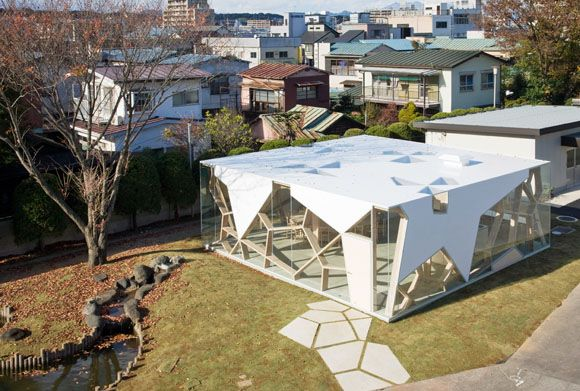 Sumika Pavilion By Toyo Ito U0026 Associates, Architects