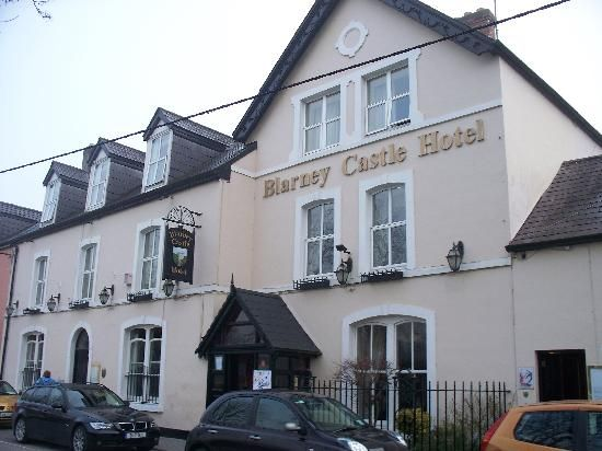 Blarney Castle Hotel Ate A Cheese Plate Had Baileys Coffee In The Bar Here