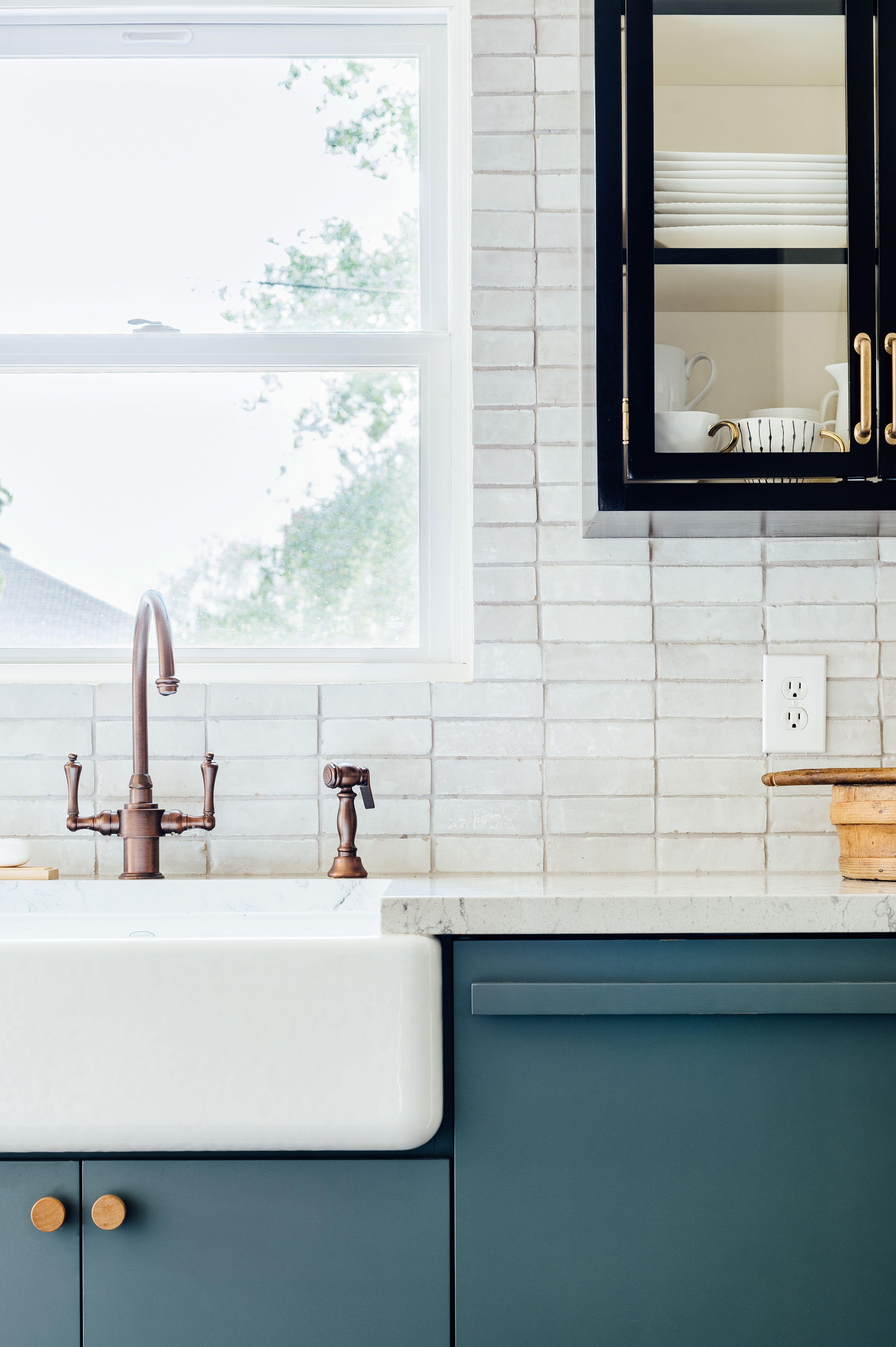 Weathered White Zellige 2 X6 X3 4 Subway Kitchen Remodel Cost Kitchen Design White Backsplash