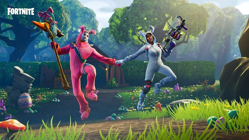 Fortnite Battle Royale Rabbit Raider Bunny Brawler Video Game 3840x2160 4k Wallpaper Fortnite Epic Games Xbox One S 1tb