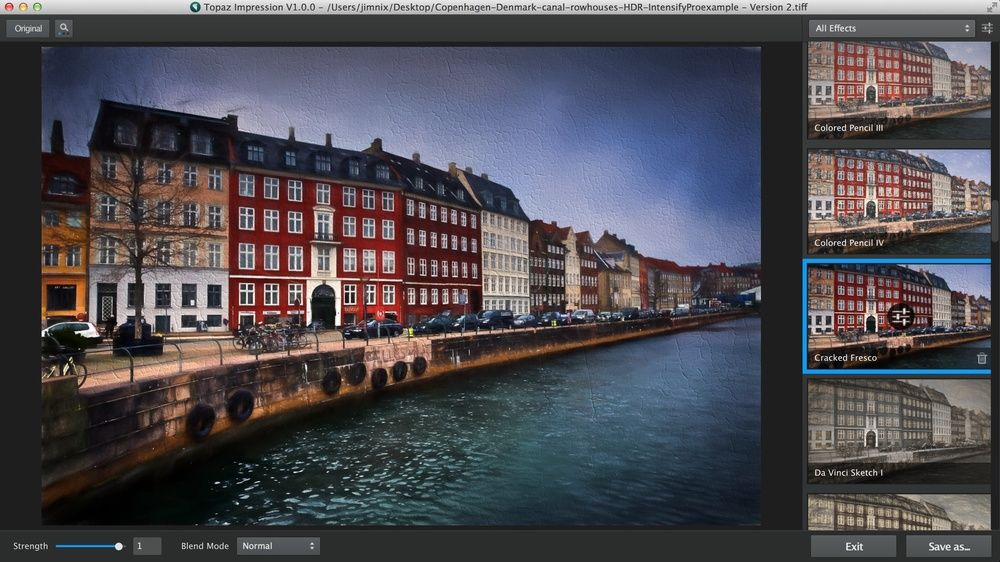 A review and tutorial of Topaz Labs' Impression - a fabulous product