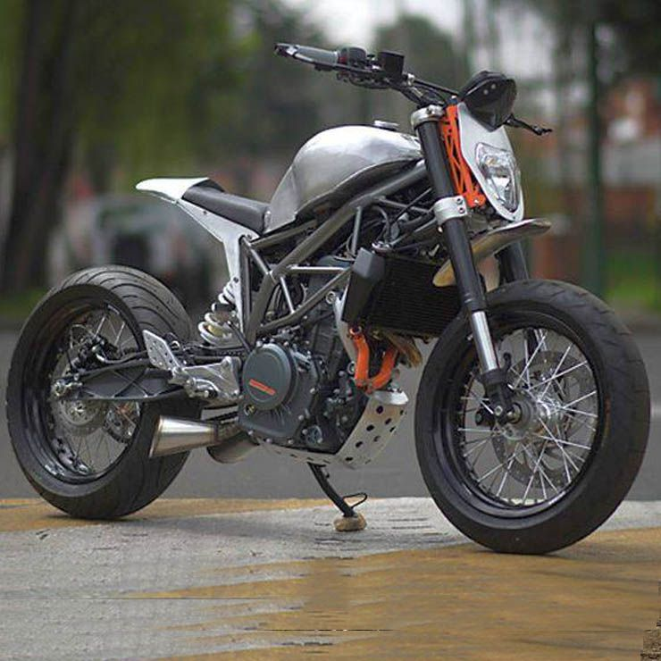 10 Gorgeously Modified Ktm Duke 200 390 Rc390s From Around The