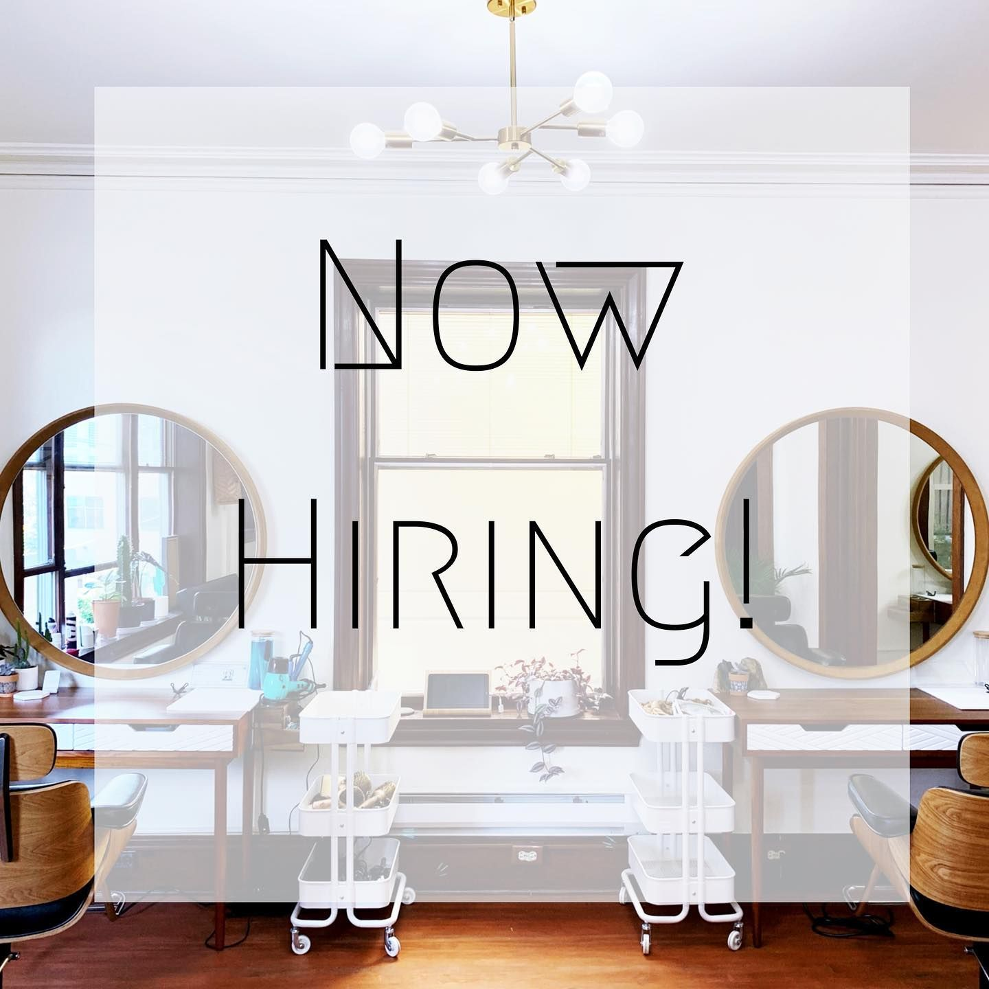 Cedarhouse Hair Studio Is Now Hiring Looking For Talented Like Minded Individuals To Join The Cedarhousehair Team Part T In 2020 Home Decor Hair Studio Ghost Chair