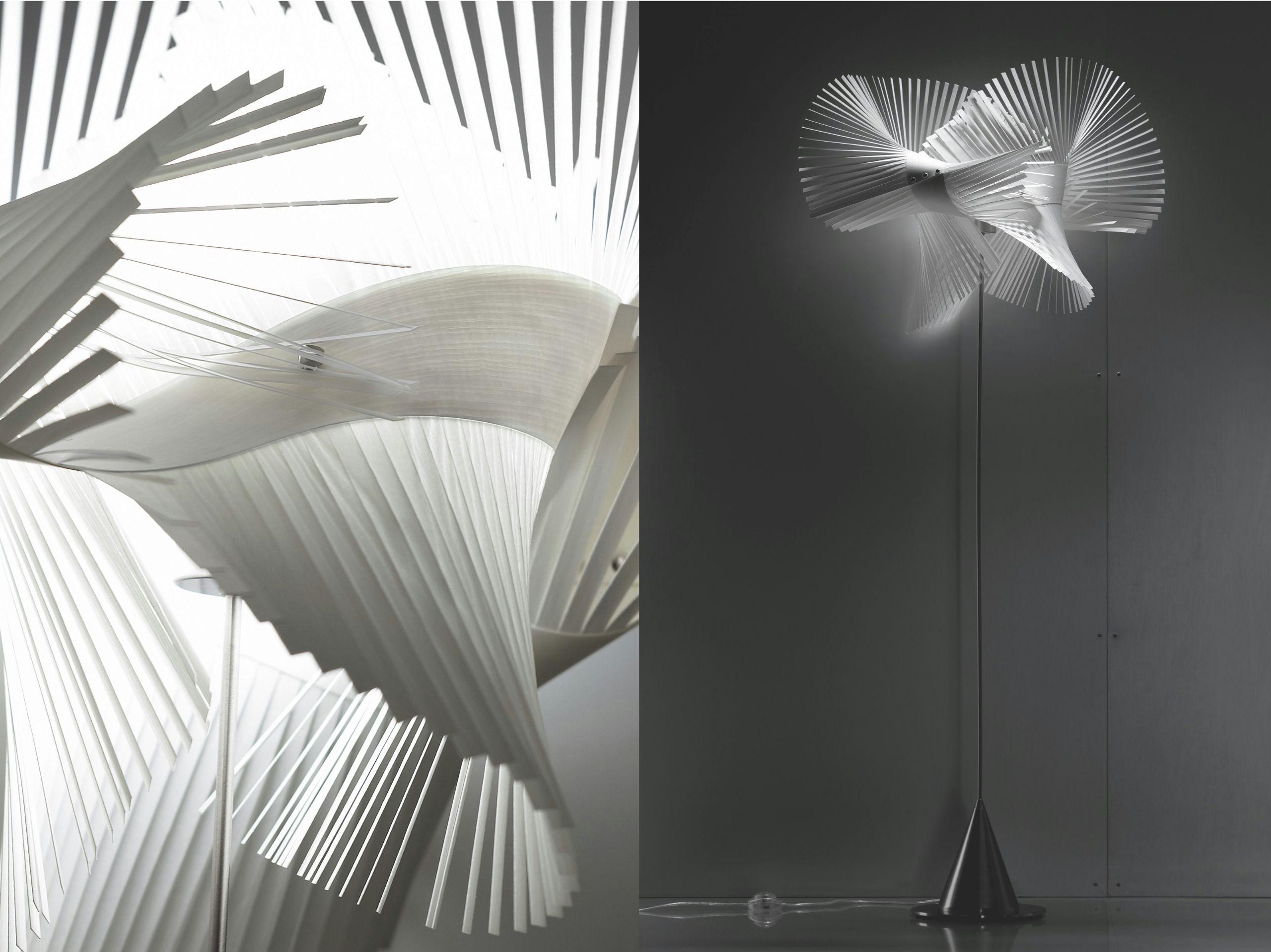 Handmade floor lamp MINI MIKADO P Mini Mikado Collection by LZF   design Miguel Herranz