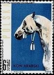 Znaczek nr: 1308 - Konie polskie