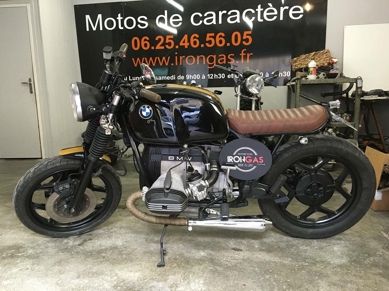 custom bmw motorcycleirongas, using aartz parts (rear frame