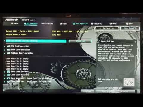 Overclock i7-8700K in 2 Steps with ASRock Z370 Taichi/ Intel Optane