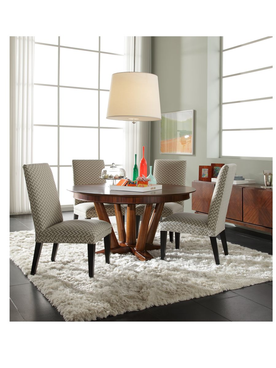 Nadia Round Dining Table Available Online Mitchell Gold Bob