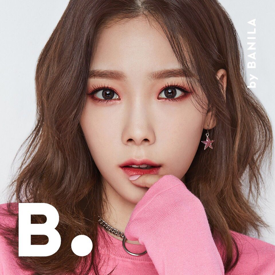 ×Taeyeon B. Banila Co. Korean eye makeup, Korean makeup