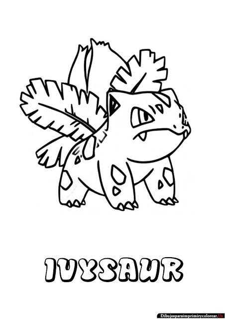 Dibujos De Pokemon Para Imprimir Y Colorear Dibujos De Pokemon
