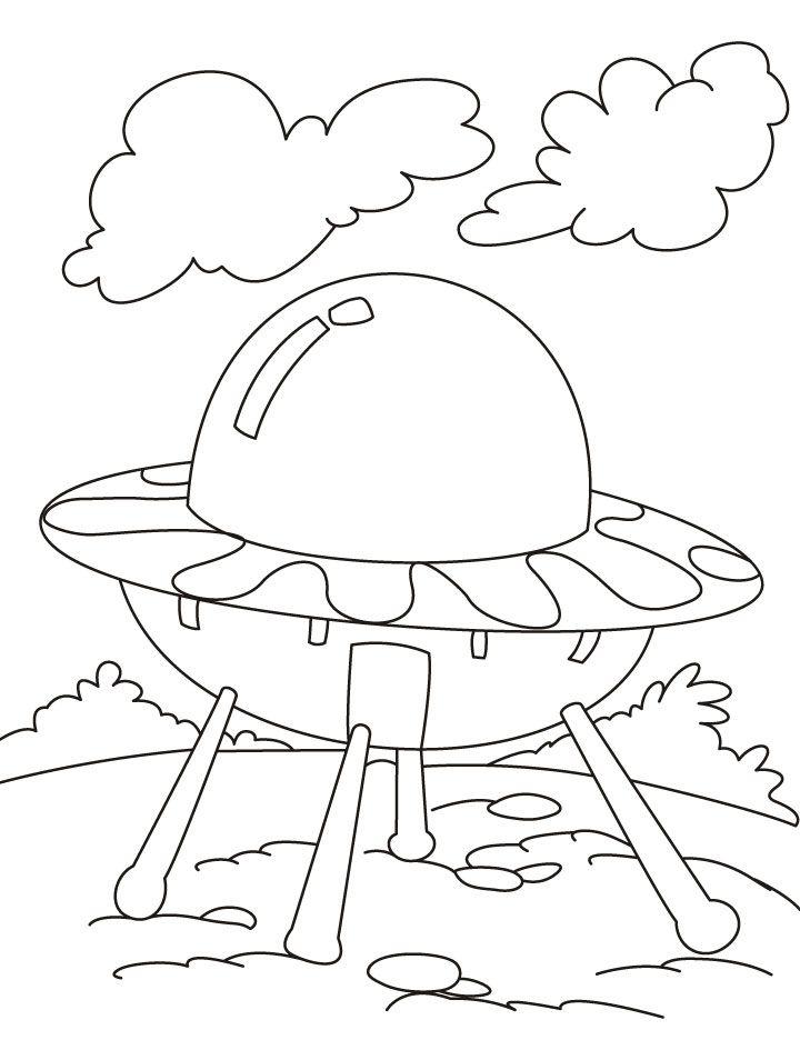 UFO Coloring Page | It\'s World UFO Day! | Pinterest | UFO