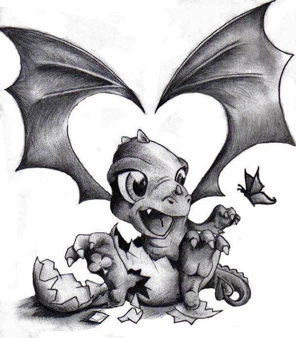Tattoo Designs Bebe Bapu: Baby Dragon. …
