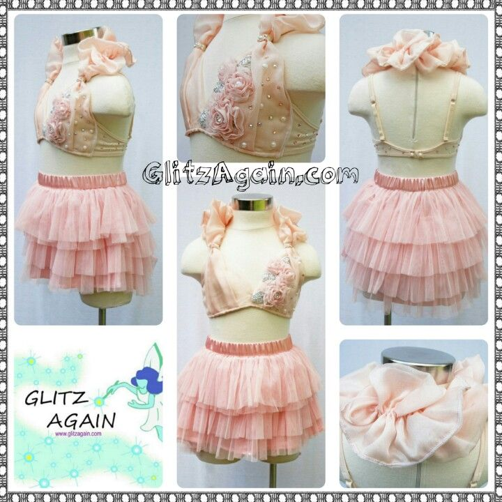 Dance Costume Consignments ★ GlitzAgain.com ♥ lyrical, Light Pink