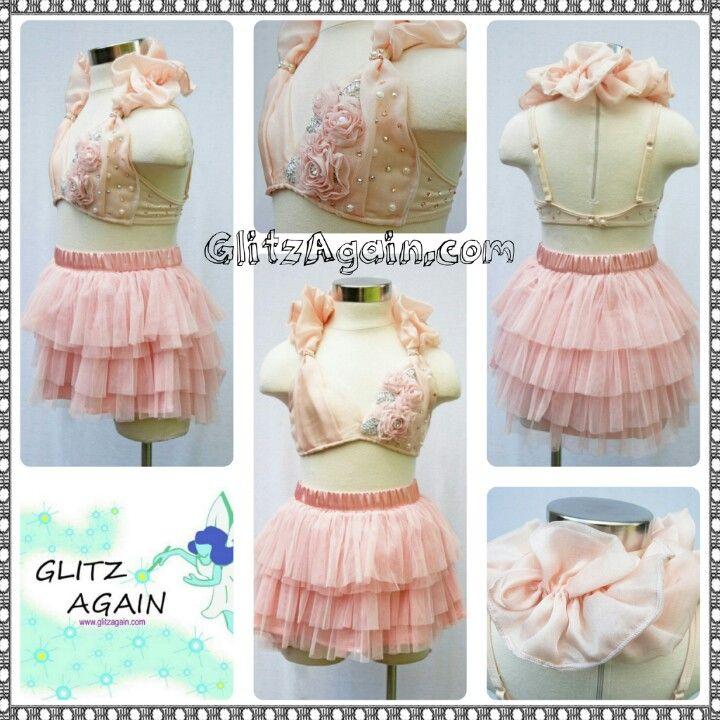 Dance Costume Consignments ★ GlitzAgain.com ♥ lyrical, Light Pink