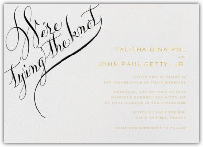 Paperless Wedding Invitations: We Do!   My Hotel Wedding