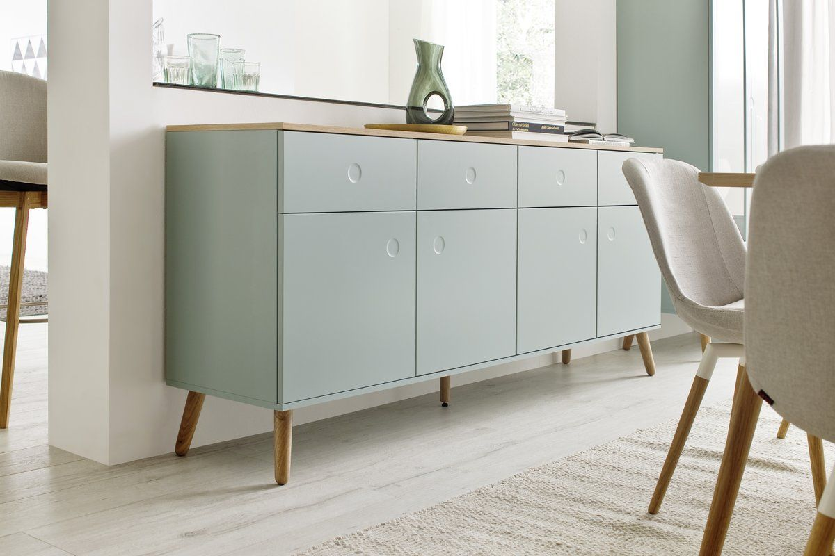 Tv Lowboard Dot Dot 4 Drawer Sideboard