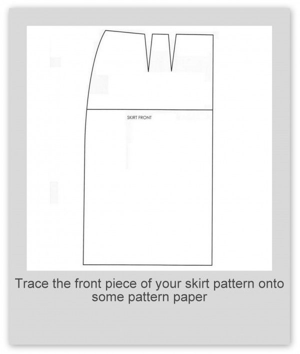 How to make a tulip skirt pattern